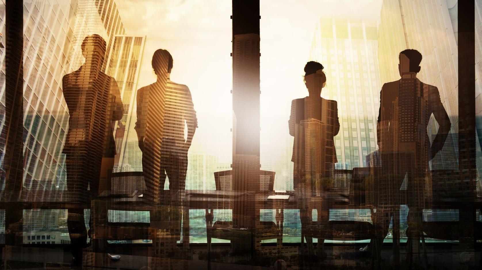 widescreen - Business partners